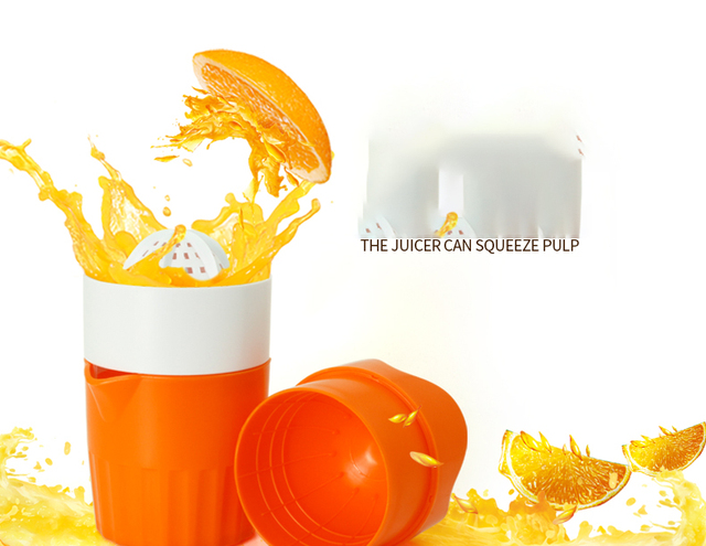 Manual juicer Lemon Fruit Squeezer Orange Citrus Lime Hand-pressed orange  juicer household DIY