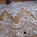 Guarnição do laço para veils casamento acessório vestido de noite em Branco Marfim Vermelho vendido no quintal LYN001