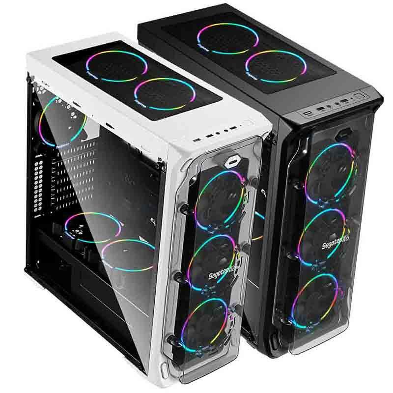 Segotep LUX Gaming Case ATX Micro-ATX, ITX 1