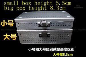 Image 3 - Medical orthopedic dentel Surgical instrument aluminium alloy Storage Sterilizing box HTHP materials case with HTHP silicone pad
