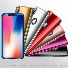 Mirror Case for iPhone X 8 7 6 6S Plus SE