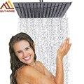 Showe Head Shower Faucet Accessories 6 8 10 12 Inch Rainfall Square Chrome Finish Single Head Bathroom Shower Head