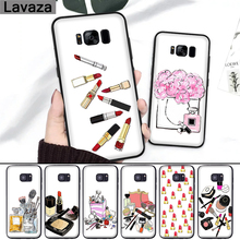 Lavaza 28FF Fashion Makeups Cosmetic Silicone Case for Samsung S6 Edge S7 S8 Plus S9 S10 Note 8 9 10 M10 M20 M30 M40