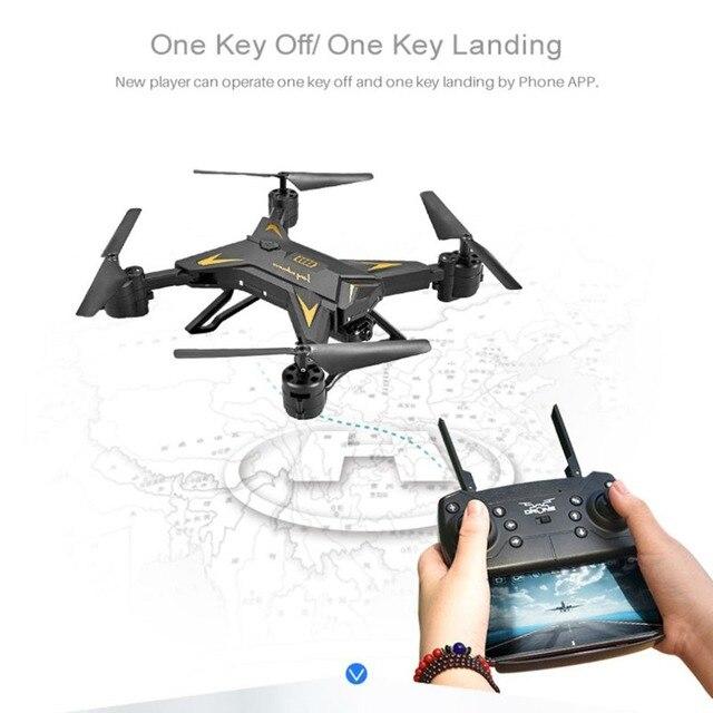 חג המולד KY601S מלא HD 1080 P 4 ערוץ לאורך זמן מתקפל זרוע RC quadrocopter עם מצלמה Drone WIFI בזמן שידור