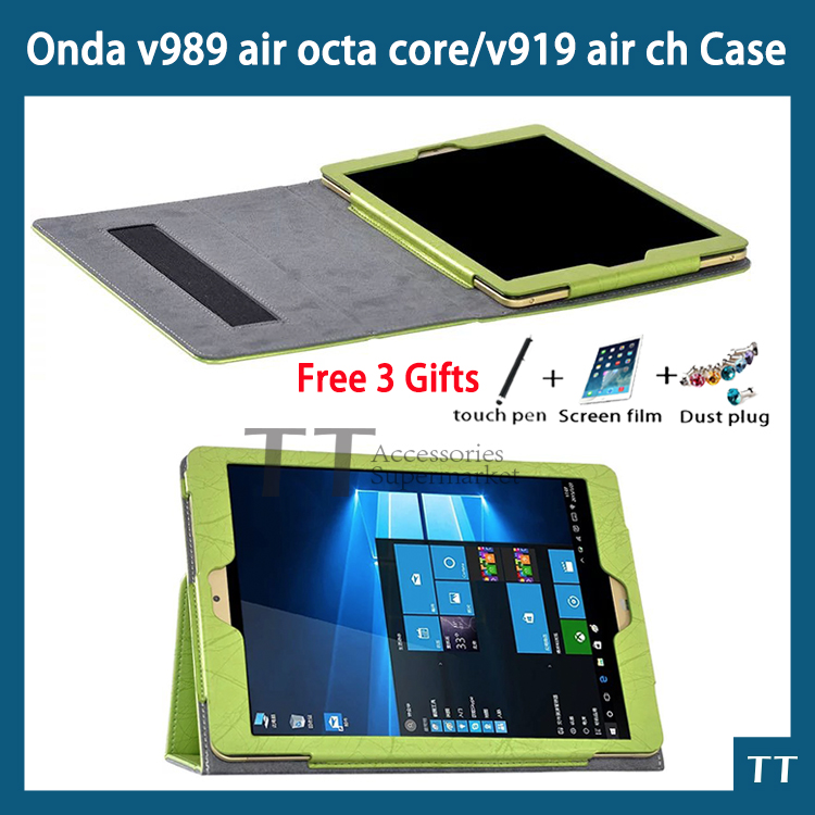 For New Onda V989 Air Octa core v919 air ch case cover,PU leather case For Onda V919 Air Dual boot 9.7 inch Tablet  new v919 flower print stand pu leather case for onda v919 v989 air 9 7 tablet cover protectors