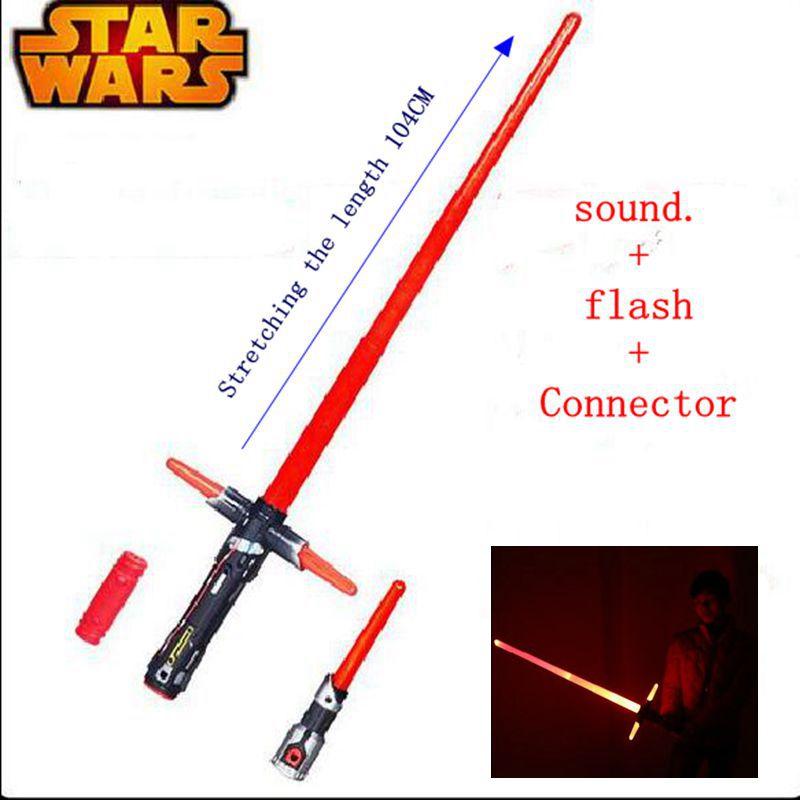 104cm Star Wars Lightsaber Led Flashing Vocalization Weapons Action Figure Star Wars Darth Vader Force awakening
