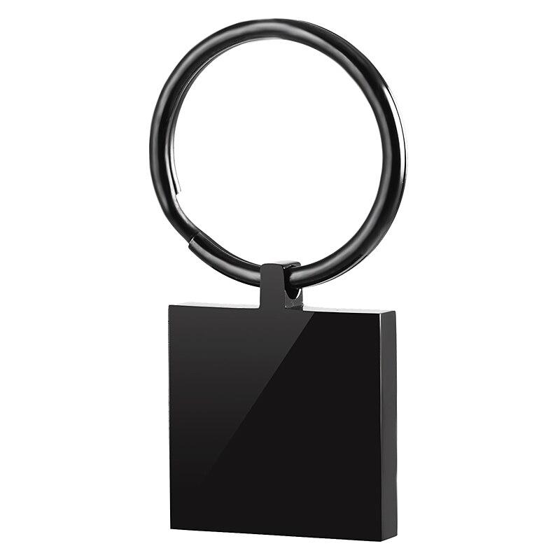 IJK0036 fabryka bezpośrednio sprzedaż hurtowa wysokiej polerowane puste prostokąt breloczek ze stali nierdzewnej grawerowane stałe pies Tag brelok w Breloczki na klucze od Biżuteria i akcesoria na  Grupa 3