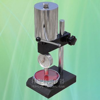 цены LD-YJ shore hardness tester support D type rubber hardness tester machine rubber hardness tester