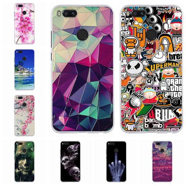 3c6f063c6e8 For Coque Xiaomi mi a1 A2 Lite 6 Case Soft Silicone Cover For Funda Xiaomi  mi 6 A1 A2 Case 3D For Xiaomi mi a1 mia1 Phone Cases