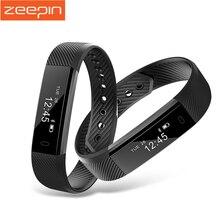 Zeepin ID115 Bluetooth Смарт Браслет Фитнес-Трекер Спорт Смарт Браслет Сна Монитора для IOS Android Samsung Huawei Xiaomi