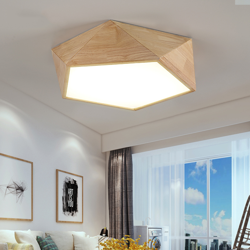 Illuminating Kitchen Lighting: Modern LED Ceiling Lights Nordic Living Room Ceiling Lamps