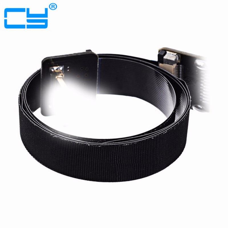 HDMI FPV 10cm 20cm 30cm 50cm 80cm 100cm FPC Ruban Câble Plat 0.5mm Pas 20pin pour HDMI HDTV FPV Multicopter Photographie Aérienne