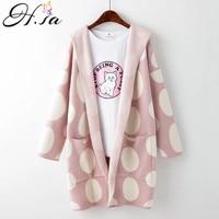 Women Cardigan Sweater Coat 2016 Autumn Poncho Hooded Cardigans Long Coat Female Oversize Knitwear BIG BOT