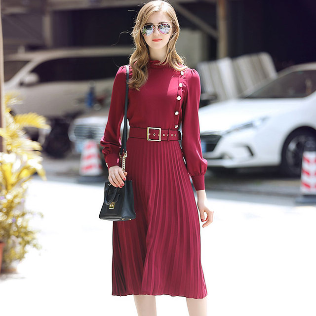 Long Sleeve Work Dress