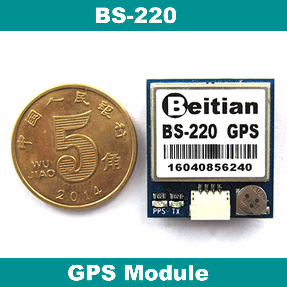 BEITIAN, TTL Leve PPS Base station 9600bps NMEA-0183 1Hz 4M FLASH 5.0V 1.00mm 4pins connector GPS Module   BS-220