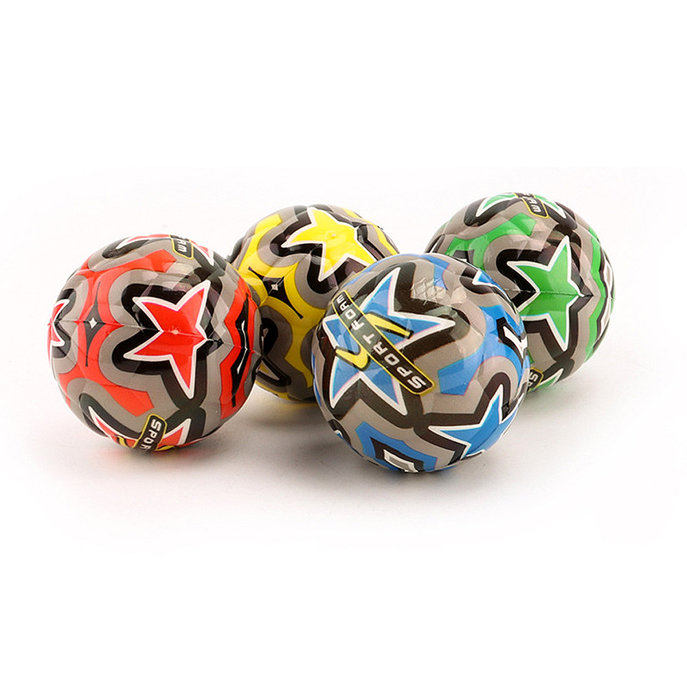 Color Random Mini Football Hand Catch Ball Solid Sponge Ball Foam Decompression Toy Children Gift image