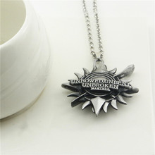 ORP Movie peripheral Game of Thrones House Martell Badge necklace new Sun Logo pendant necklace unbent unbowed unbroken