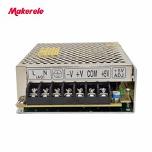 fast deliver Triple 30W DC5V3A 12V1A -5v0.5A Switching Power Supply for LED Strip Light, Input 110/220VAC T-30A цена и фото