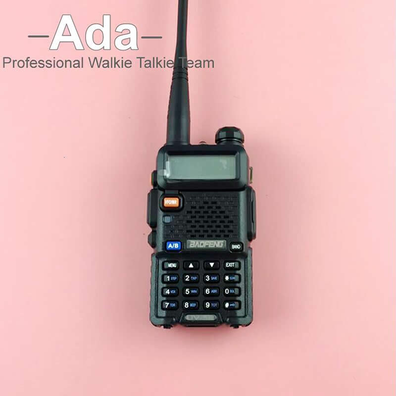 BAOFENG UV-5R Talkie Walkie Dual Band Radio 136-174 Mhz et 400-520 Mhz Baofeng UV5R de poche Deux Way Radio