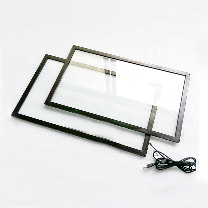 15.6 inch 2 touch points multi touch screen for computer/laptop touch screen overlay kit usb plug and play able for outdoor