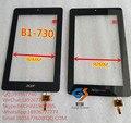 7 pulgadas 070588-01a-v2 capacitiva panel de cristal del digitizador de la pantalla táctil para iconia one 7 b1-730hd b1-730 tablet pc gateway