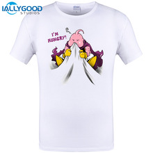 Dragon Ball Super Z Fashion T-shirt Saiyan I'm Hungry Tshirt Casual Japanese Popular Anime T-shirt Men Women Printed Tee