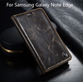 Luxury Phone Leather Case for Samsung Galaxy Note Edge С Стенд Wallet Кожаный Чехол для Samsung Galaxy Note Edge N9150