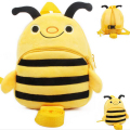 Cute Cartoon Bee Baby Harness Baby Walking Wings Anti-lost Baby Bag Kids Keeper Children Backpacks Baby Boy & Strap Bag 0-3years