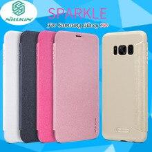 Для samsung galaxy s8 + флип case nillkin искра серии pu кожаный чехол flip case для samsung s8 plus с розничной упаковка