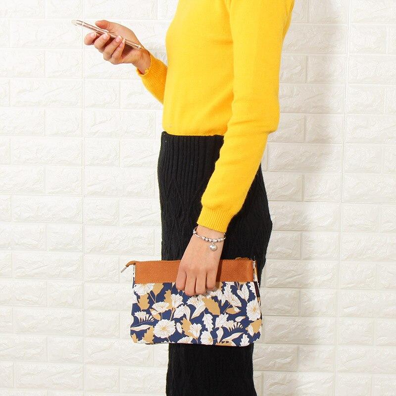 HAOCHU Dual-use Storage Bag Shouder/Hand Bag Phone Case Cosmetic Organizer Women Messenger Purse Wallet Money Pouch