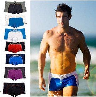 Новейший стиль, Классическая мужская пляжная одежда