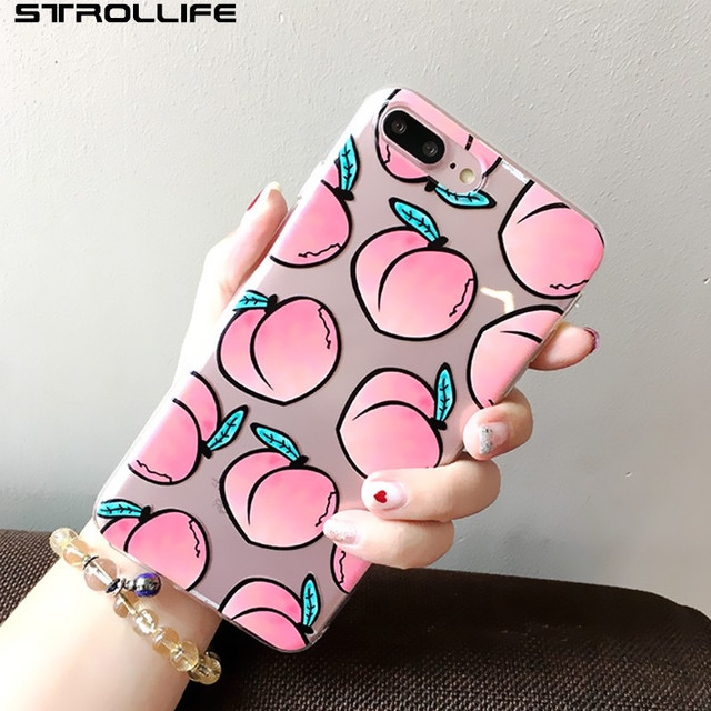 coque iphone 6 peche fruit
