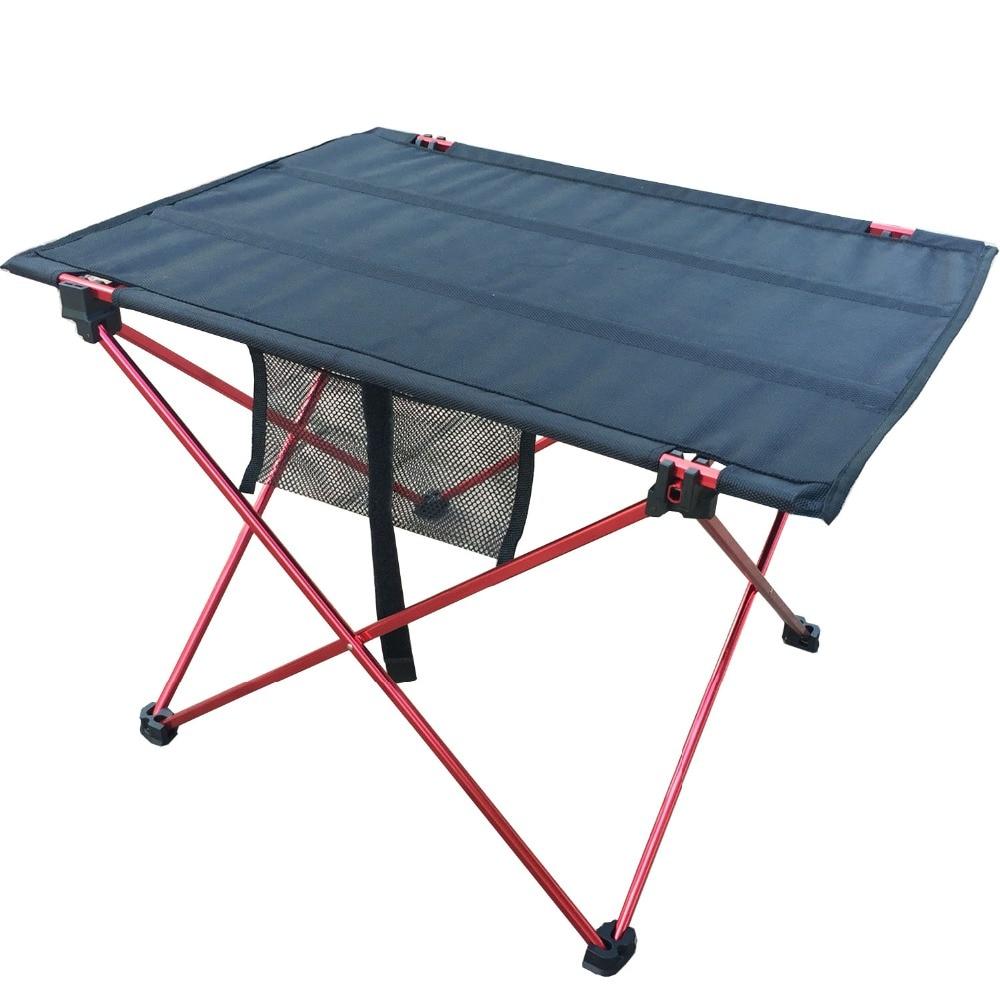 Zložljiva miza na prostem za kampiranje z mizo iz aluminijeve - Pohištvo - Fotografija 4