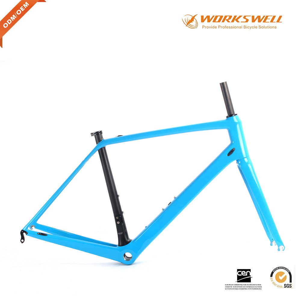 cheap carbon road bike 2017 new carbon fiber bicycle frame endurance carbon road frame customized painting