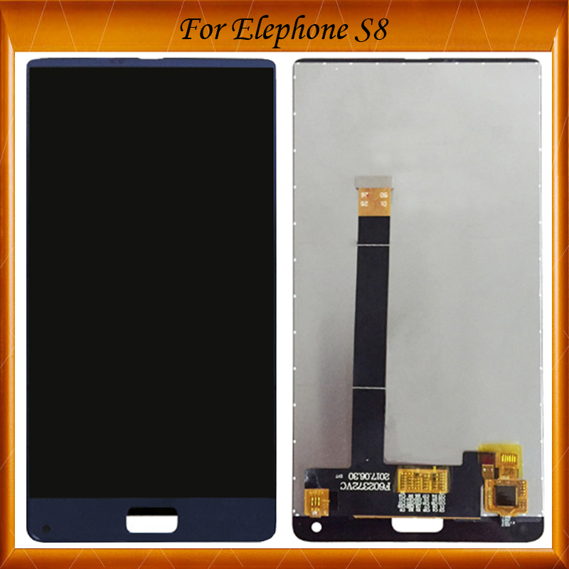 100% Working Well For Elephone S8 LCD Display And Touch Screen 6.0 Assembly Repair Parts For Elephone S8 Mobile Phone IN Stock