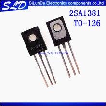 จัดส่งฟรี 50 ชิ้น/ล็อต 2SA1381 A1381 300 V 0.1A TO   126 ใหม่และต้นฉบับสต็อก