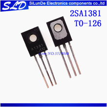 Free Shipping  50pcs/lot 2SA1381 A1381 300V 0.1A TO 126 new and original In Stock