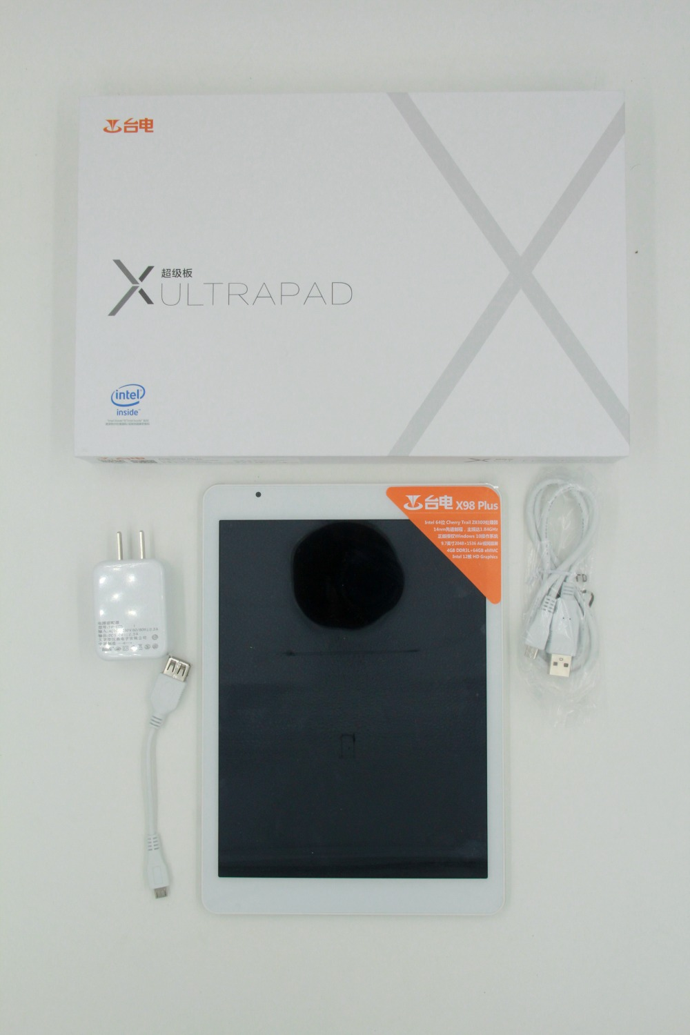 IN stock Teclast X98 plus Intel T3 Z8300 Tablet PC IPS Retina 2048x1536 4GB RAM 64GB