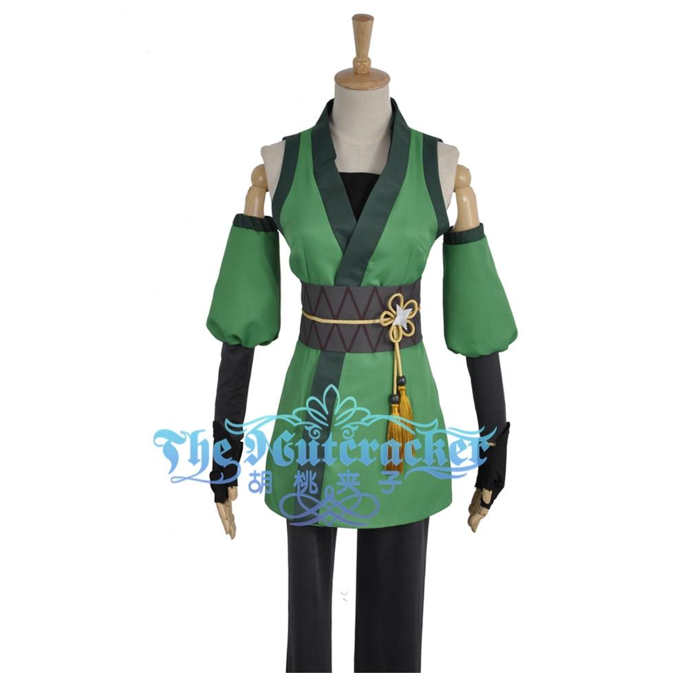Love Live Hanayo Koizumi Cos Awakening Ninja Shinobi Cosplay Costume Custom