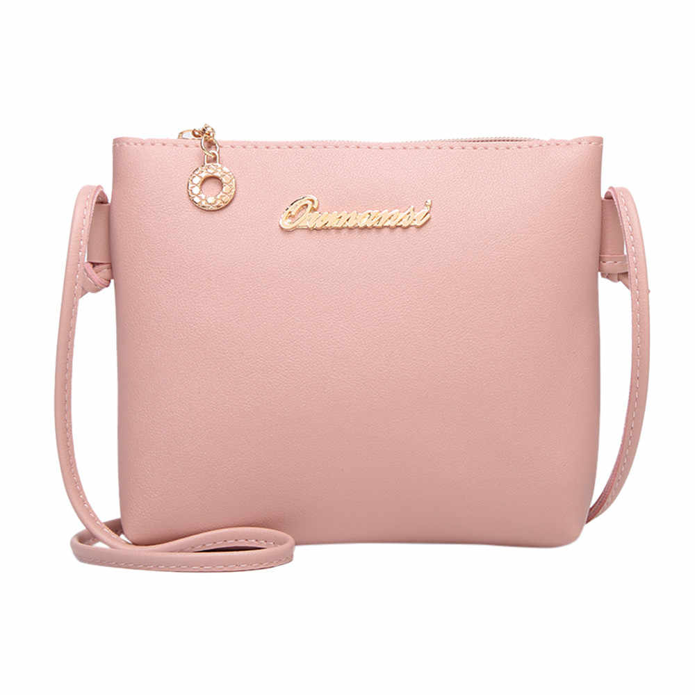 Women Bags Fashion Solid Color Crossbody Messenger Phone Coin schoudertas dames sac a main femme de marque soldes woman bag
