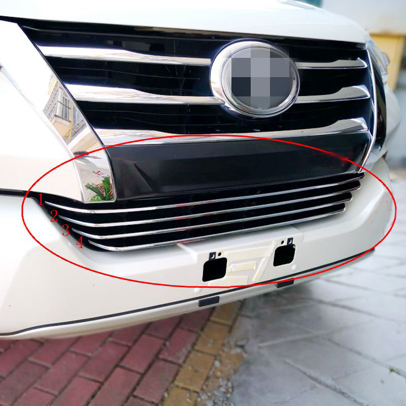 Car Front 3D bumper Mesh Vent Hole Dirt Grille Grills Fog Lamp Cover Trims For Toyota