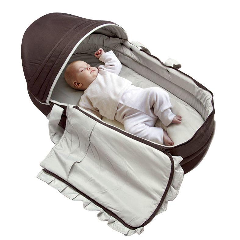 baby baskets portable sleeping basket newborn supplies baby travel bed outdoor sun shading