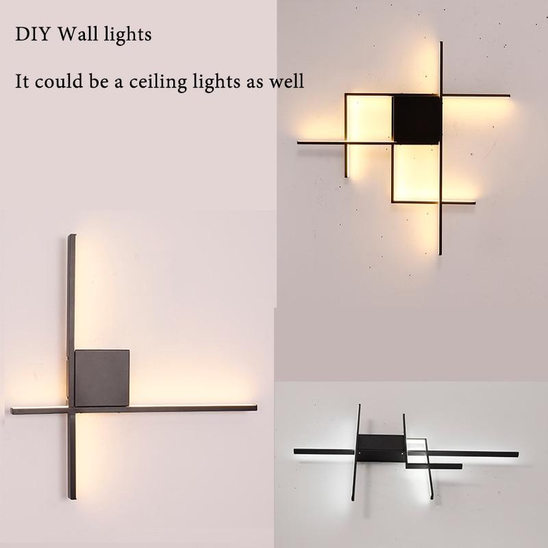 Modern LED Wall Sconce Lights Lamp For Bedside Corridor Aisle LED Wall Lights For Home Bedside