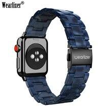 Wearlizer браслет из нержавеющей стали ремешки для apple watch