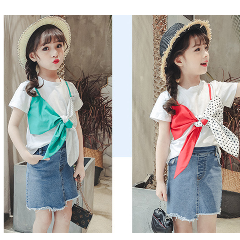 2018 Kid Fashion T Shirts Baby Girl Summer Clothes New Design T