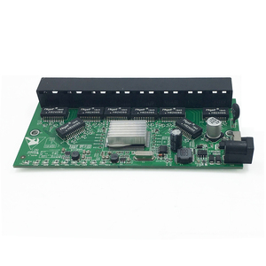 Image 3 - GPON/EPON SOLUTION SUPPLIER With VLAN 8 port 10/100M and 10/100/1000M realtek RTL8370N reverse PoE switch motherboard