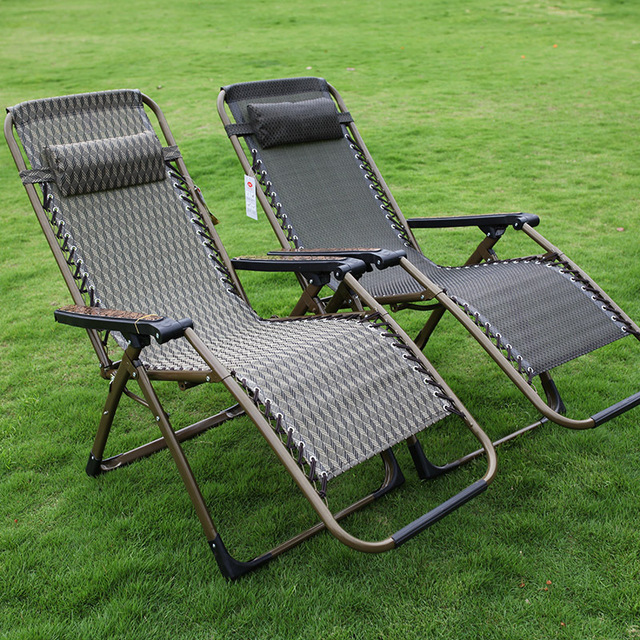 Outdoor Chiase Lounge Ajustable Tilt Angle Folding Chairs with Armrest Quick Drying Material for Summer Nap Beach Camping Pool 1