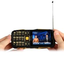 YEPEN Y698 Taschenlampe Wireless FM Radio 2800 mAh Lange Standby-Dual-SIM karte Mp3 Mp4 Energienbank Analog TV Robuste Handy P072