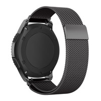 Mesh Milanese Loop Strap Link Bracelet Wrist Watch Band Strap Magnetic Closure For Smart Watch 18mm