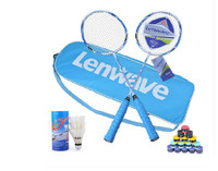 Badminton rackets with 2 carbon fibre double rackets for men and women free shipping